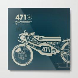 PRINT Nº008 Metal Print