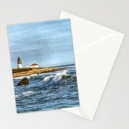 Soothing Ocean Sounds and Sights Stationery Cards
