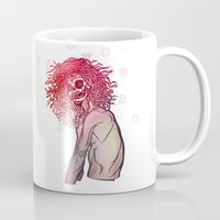 medusa Mugs featuring MEDUSA by BABA-G | arts and crafts