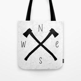 compass & axes Tote Bag