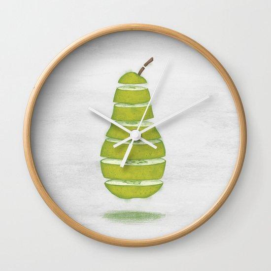 A Pear Apart Wall Clock