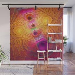 Light Flight, fractal abstract Wall Mural