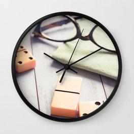 A Break in the Game Wall Clock