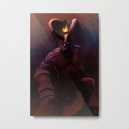 Hell Boy Metal Print