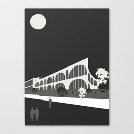 Tama Art University Library / Toyo Ito & Associates Canvas Print