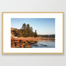 Forty Baskets Beach Framed Art Print