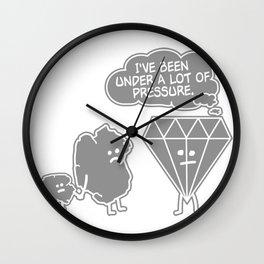 COAL UNDER PRESSURE Wall Clock