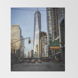 One World Trade Center Throw Blanket