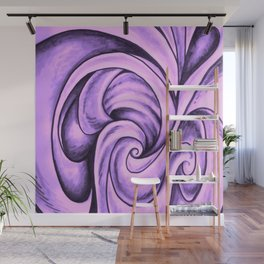 Swirl (NEON PINK) Wall Mural