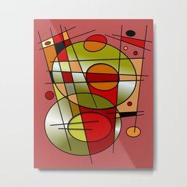 Abstract #48 Metal Print