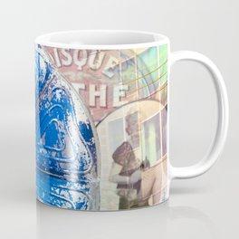Musical Blue Mood, Flowers Photography Coffee Mug