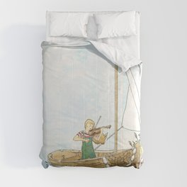 Maritime Festival Celebration Comforters