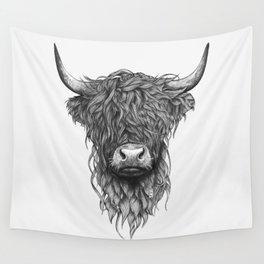 Highland Cow Wandbehang