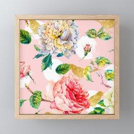 Blooming in spring Framed Mini Art Print