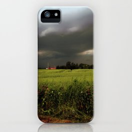 Rolling Thunder, Warm Winds iPhone Case