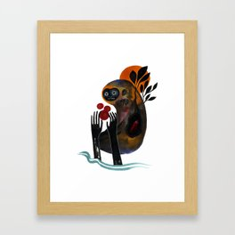 Bigfoot Dreams Framed Art Print