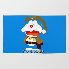 Doraemon Coboy Rug