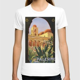 Vintage poster - Palermo T-shirt