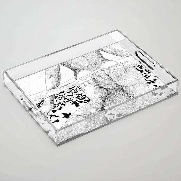 The Swim Acrylic Tray