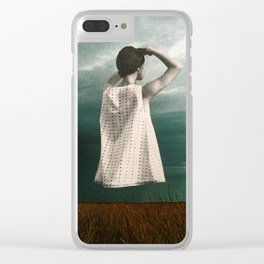 Storm Ahead Clear iPhone Case