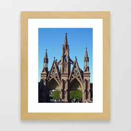 Green-Wood Cemetery Framed Art Print