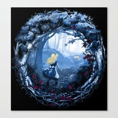 Follow the Rabbit Canvas Print