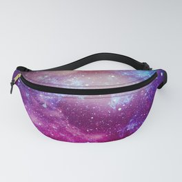 Pink Star Galaxy Painting Fanny Pack