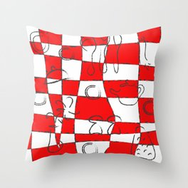 Kitchen Duty Throw Pillow