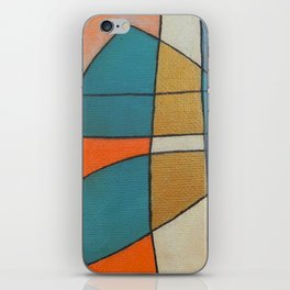 The Abstract Daily Art Print #6 iPhone Skin