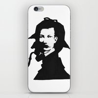conan iPhone & iPod Skins featuring Sir Arthur Conan Doyle by VivienKunde