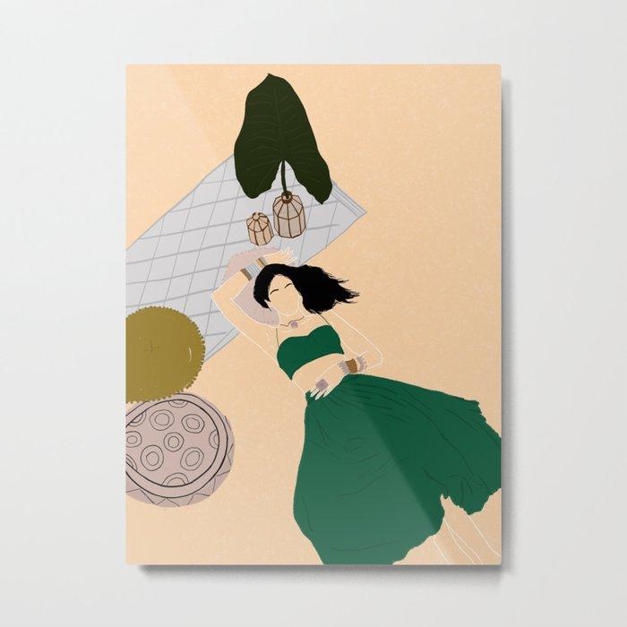 Desert Green  Metal Print