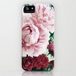 Peony Passion 2 iPhone Case