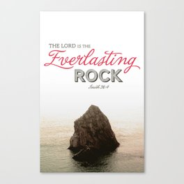 Everlasting Rock Canvas Print