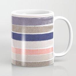 Sofie - Modern watercolor abstract painting brushstrokes feminine pop dorm college hipster art pink Coffee Mug