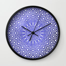 Dark Cloud Mandala Wall Clock