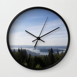 Vancouver Lookout Mount Cypress Wall Clock