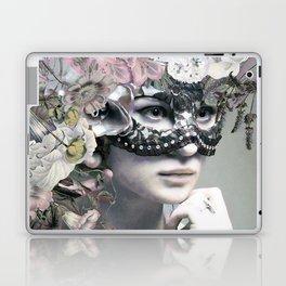 Flower woman Laptop & iPad Skin