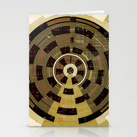 record Stationery Cards featuring Record by Tammy Kushnir