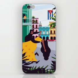 Havana ft. Salsa Dancers iPhone Skin