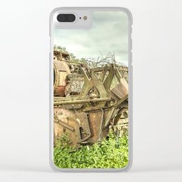 The abandoned Combine Clear iPhone Case