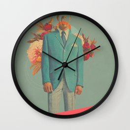 Absent Through my Adultness Wall Clock