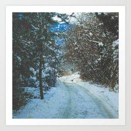 Winter Feels Art Print
