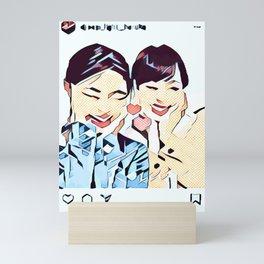 Insta 1 Mini Art Print
