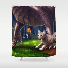 Forest Friends Shower Curtain