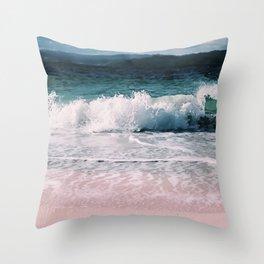 Crash into me (Samana Island Dominican Republic) Throw Pillow