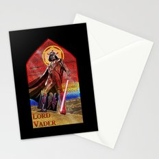 STAR WARS Stained Glass Lord Vader Stationery Cards