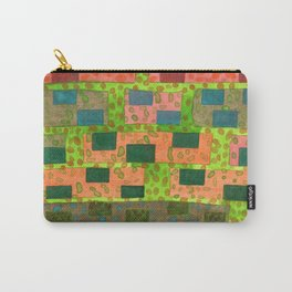 Added Color to a Colorful Wall Carry-All Pouch