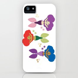 Three Little Mermaids iPhone Case