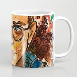 rapper,colourful,colorful,poster,wall art,fan art,music,hiphop,rap,logicc,lyric Coffee Mug