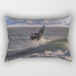 Surfing the Wedge Rectangular Pillow